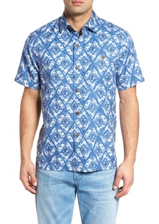 Tommy Bahama Deep Water Diamond Camp Shirt