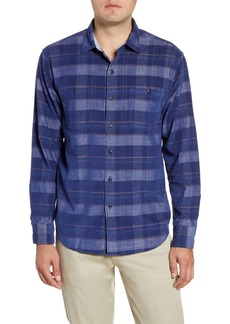 Tommy Bahama Del Coast Classic Fit Plaid Corduroy Button-Up Shirt