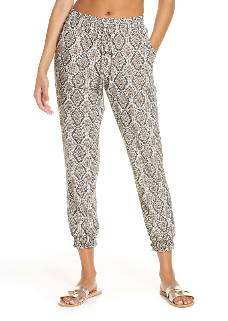 Tommy Bahama Desert Python Cover-Up Jogger Pants
