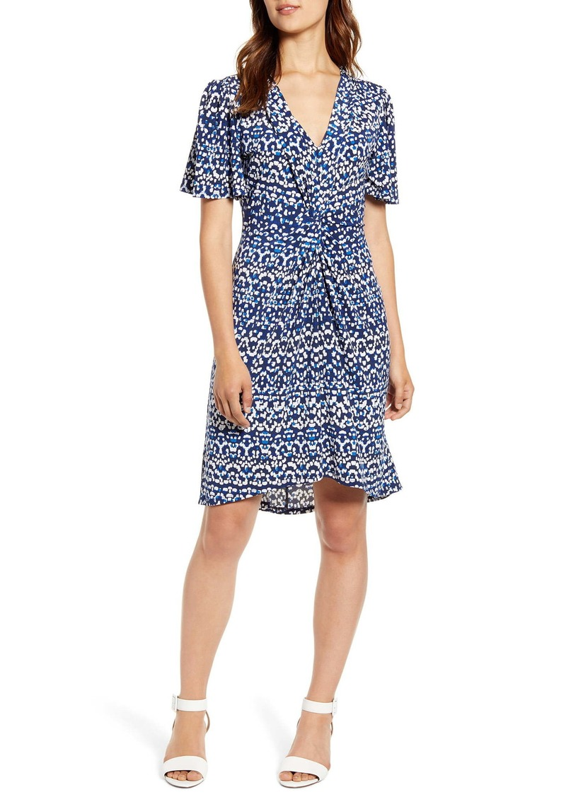 Tommy Bahama Desi Dots Elbow Sleeve Dress