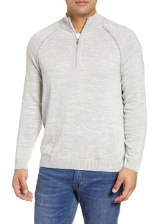 Tommy Bahama Di Sabbia Reversible Half-Zip Sweater