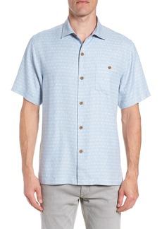 Tommy Bahama Diamond Lines Silk Camp Shirt