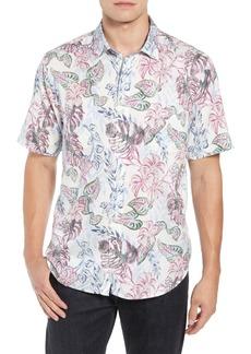 Tommy Bahama Diego Fronds Jacquard Short Shirt
