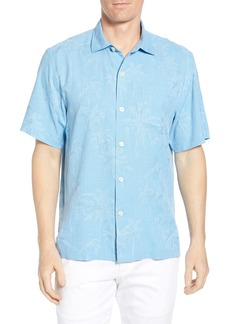 Tommy Bahama Digital Palms Classic Fit Silk Shirt