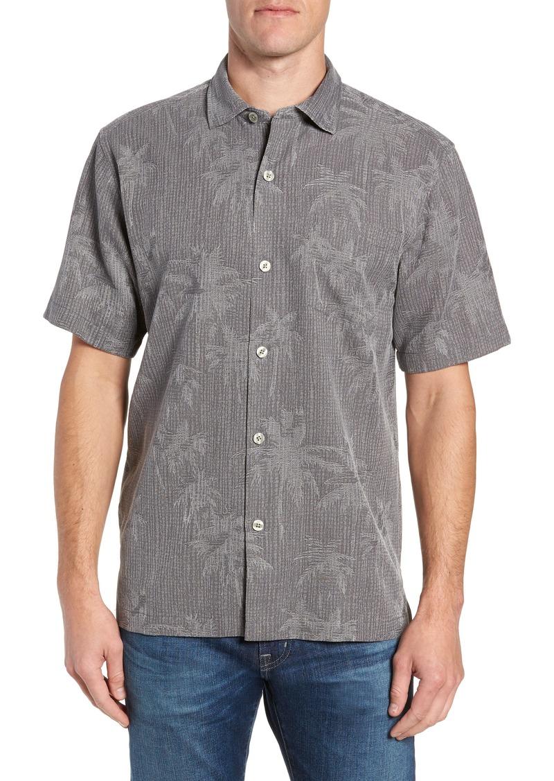 Tommy Bahama Digital Palms Classic Fit Silk Shirt