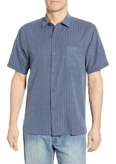 Tommy Bahama Dimensional Diamond Silk Sport Shirt