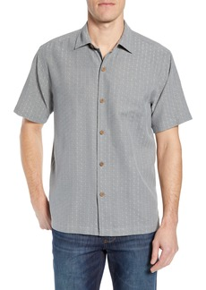 Tommy Bahama Dimensional Diamond Silk Sport Shirt
