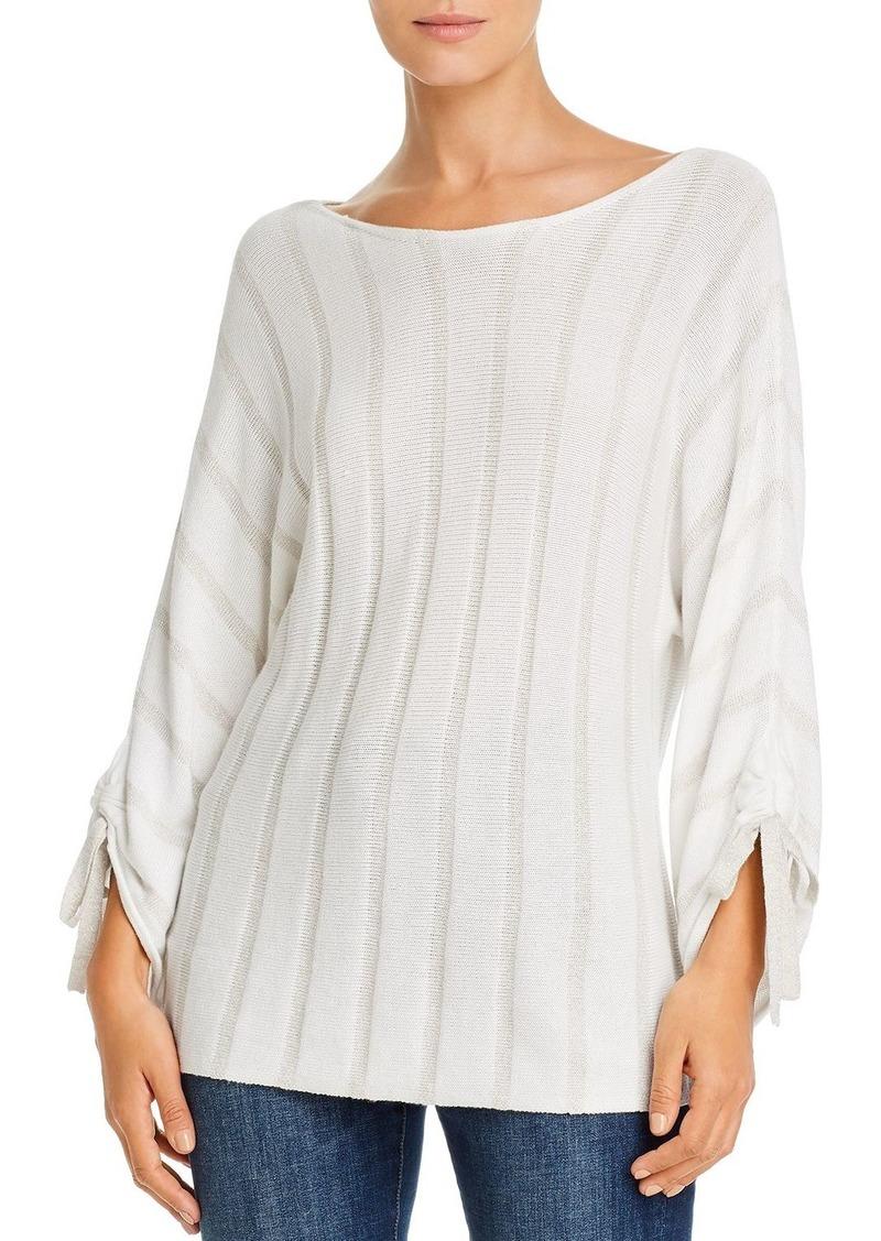 Tommy Bahama Divine Desert Metallic Ribbed Sweater