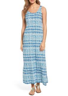 Tommy Bahama Dot Matrix Cotton Maxi Dress