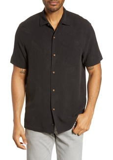 Tommy Bahama Drinking Doubles Classic Fit Silk Camp Shirt