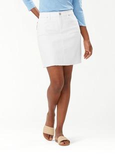 Tommy Bahama Ella Twill Denim Skirt