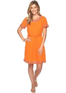 Tommy Bahama Embellished Gauze Short Dress