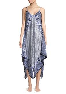 Tommy Bahama Engineered Scarf Dress