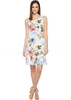 Tommy Bahama Eros Botanical Sleeveless Short Dress