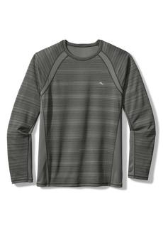 Tommy Bahama Fast Flip Reversible Long Sleeve T-Shirt