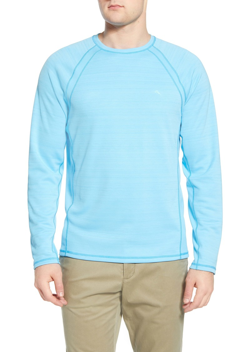 Tommy Bahama Fast Flip Reversible Long Sleeve T-Shirt
