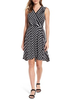 Tommy Bahama Faux Wrap Jersey Dress