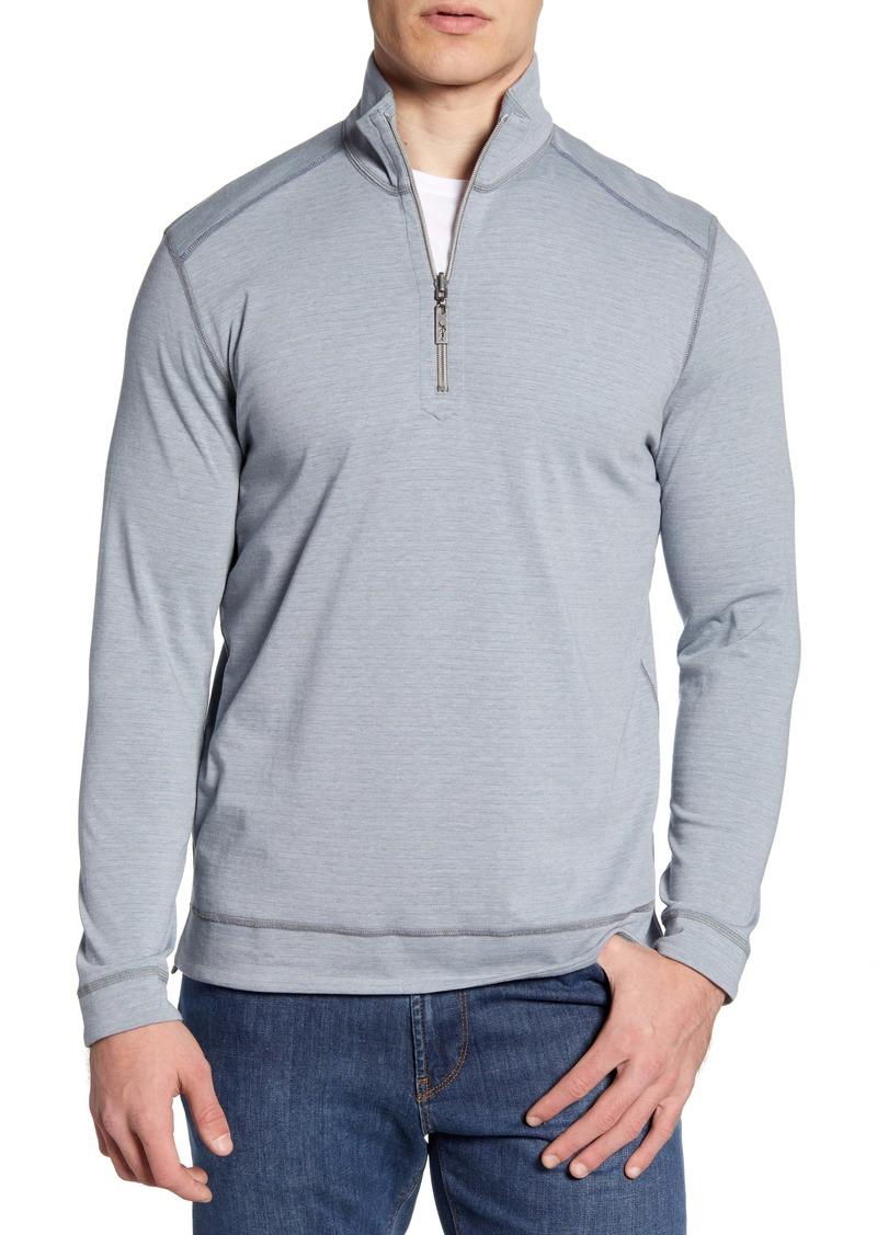 Tommy Bahama Ferrara Flip Half Zip Pullover