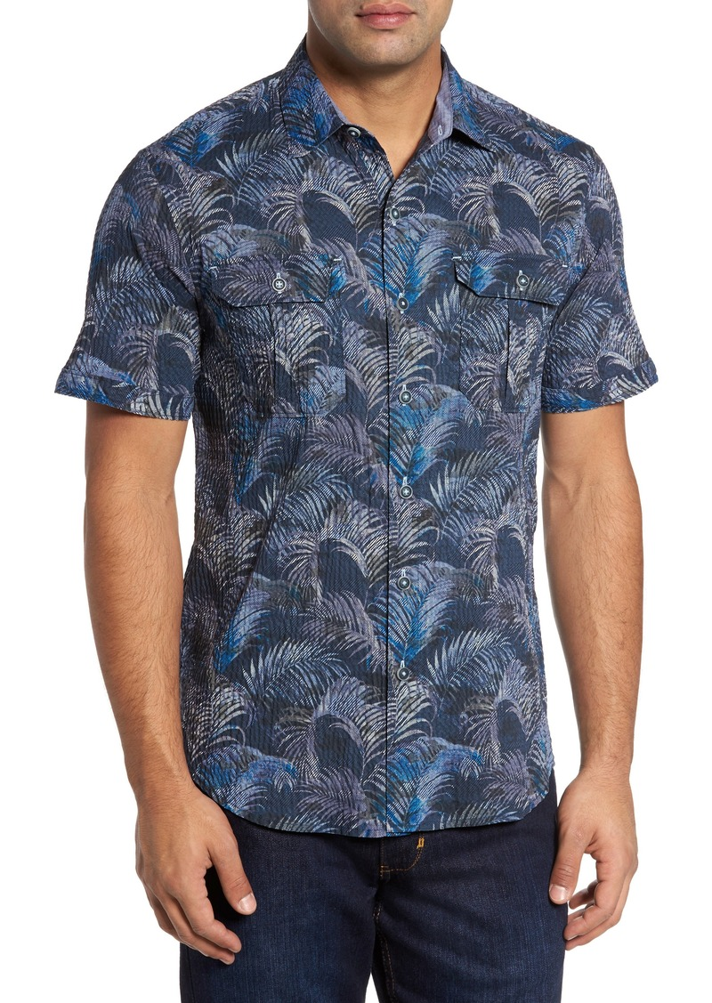 Tommy bahama tommy bahama fez fronds regular fit sport for Tommy bahama florida shirt