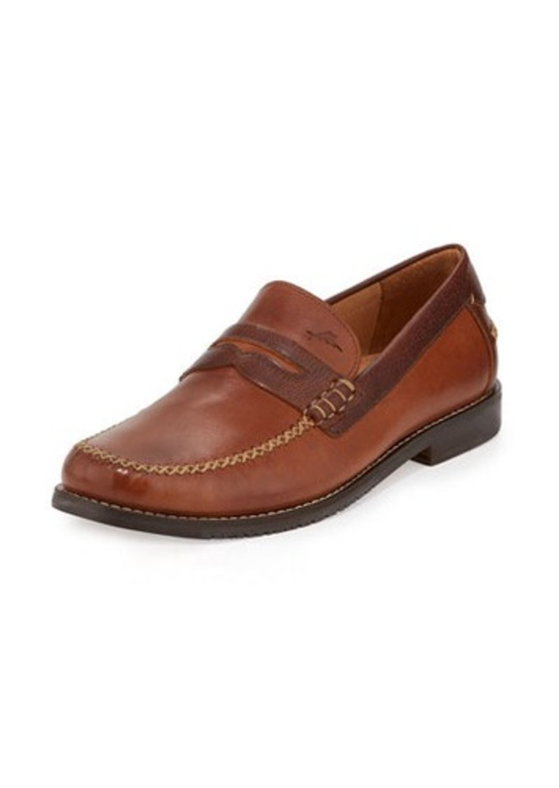 Tommy Bahama Finlay Leather Penny Loafer