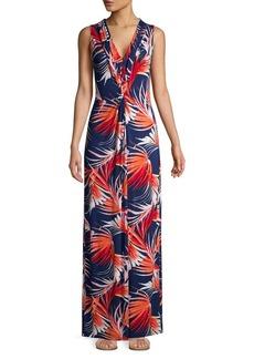 Tommy Bahama Fireworks Fronds Sleeveless Maxi Dress