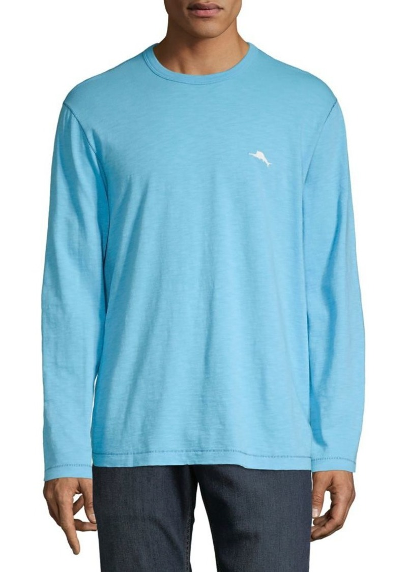 Tommy Bahama Fish Bay Lux Cotton Tee