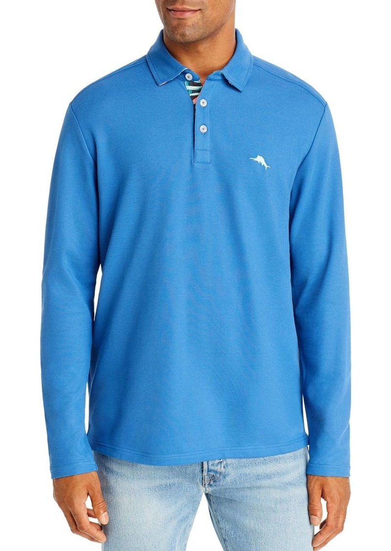 Tommy Bahama Five-O'Clock Long-Sleeve Classic Fit Polo Shirt
