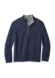 Tommy Bahama Flipshore Reversible Half-Zip Knit Pullover