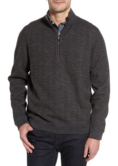 Tommy Bahama Flipsider Reversible Quarter-Zip Pullover