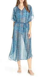 Tommy Bahama Floral Isles Belted Caftan