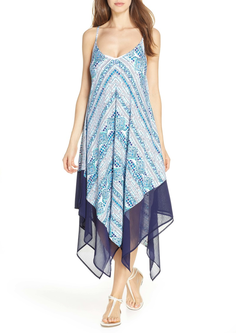 Tommy Bahama Floral Isles Cover-Up Scarf Dress