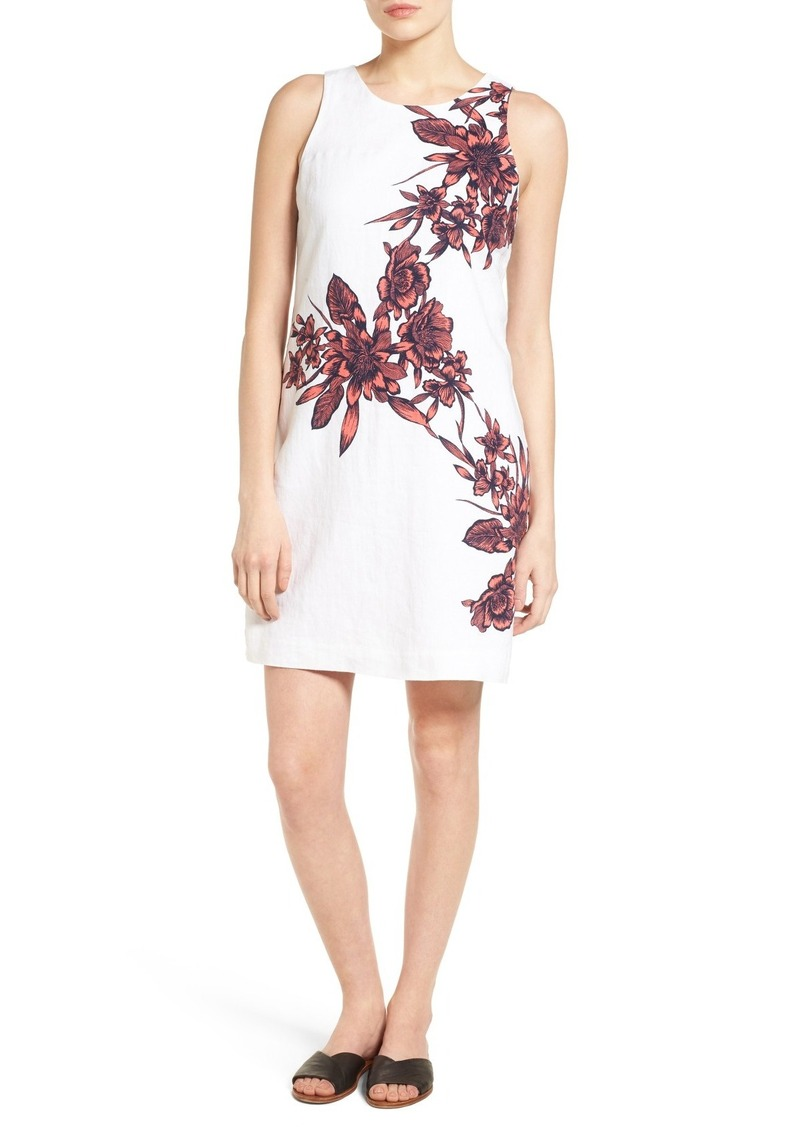 Tommy Bahama Floral Print Linen Shift Dress