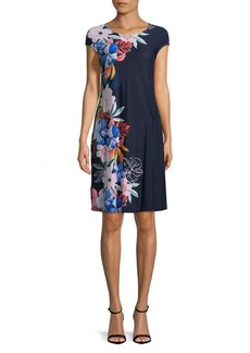 Tommy Bahama Floral-Print Sheath Dress