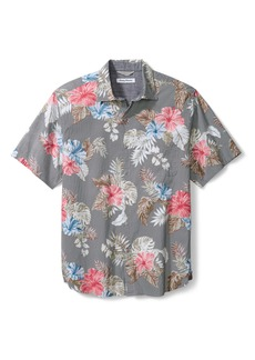Tommy Bahama Floral Short Sleeve Button-Up Shirt