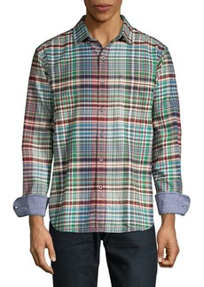 Tommy Bahama 4-Shore Long Flannel Shirt