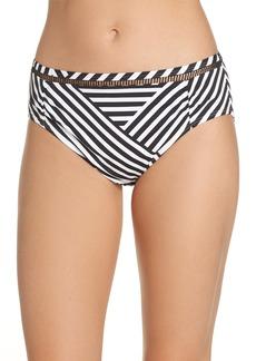 Tommy Bahama Fractured Stripe Bikini Bottoms