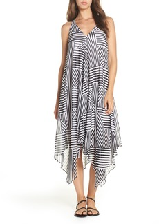 Tommy Bahama Fractured Stripe Scarf Print Cover-Up