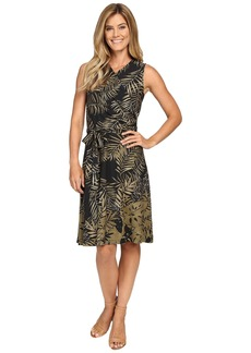 Tommy Bahama Fronds Falling Short Wrap Dress