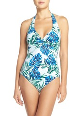 Tommy Bahama Fronds Floating Halter One-Piece Swimsuit