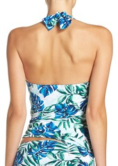 Tommy Bahama 'Fronds Floating' Reversible Halter Tankini Top