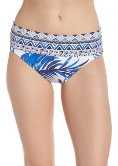 Tommy Bahama Fuller Fronds High Waist Bikini Bottoms