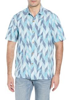 Tommy Bahama Geo Celeste Sport Shirt