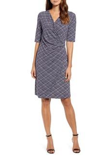 Tommy Bahama Geo Grande Faux Wrap Dress