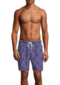 Tommy Bahama Geometric Swim Shorts