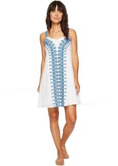 Tommy Bahama Greece's Pieces Sleeveless Short Dress