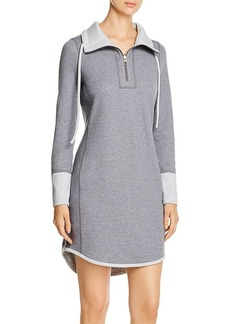 Tommy Bahama Half-Zip Sweatshirt Dress