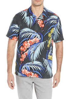 Tommy Bahama Hana Lei Fronds Short Sleeve Silk Sport Shirt