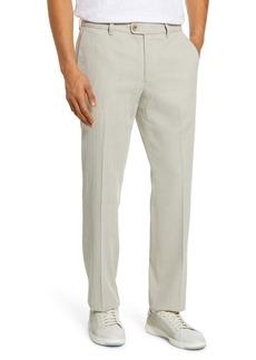 Tommy Bahama Havana Herringbone Authentic Silk Blend Straight Leg Pants