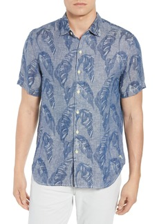 Tommy Bahama Help Me Fronda Linen Camp Shirt