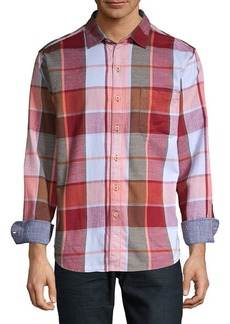 Tommy Bahama Heredia Plaid Long Sleeve Flannel Shirt